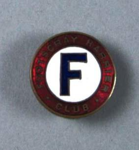 Lapel badge - Footscray HarrierClub worn by William Ager