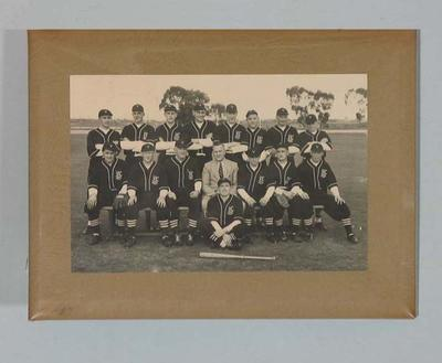 Photograph, Victorian baseball team 1948; Photography; 2006.5162