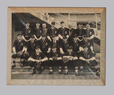 Photograph, Victorian baseball team 1949