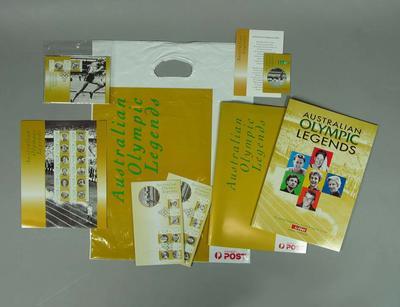Education kit produced by Australia Post - 1998 Australian Olympic Legends'