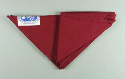 Boy scout's scarf from the 1956 Olympic Games in Melbourne