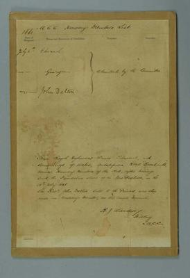 List of honorary members of Melbourne Cricket Club, 1881