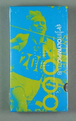 """VHS Video Cassette - """"The Official Club of the Sydney 2000 Olympic Games"""" No.6; Audio-Visual; 1998.3425.4"""