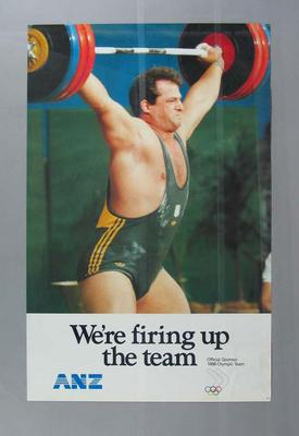 Seven posters, 1988 Australian Olympic Games team
