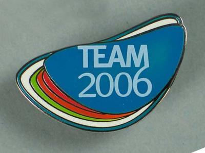 Lapel Pins - 'Team 2006', 2006 Melbourne Commonwealth Games