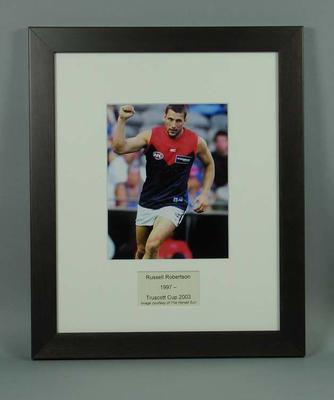 Photograph of Russell Robertson, Truscott Cup 2003