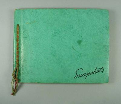 Photograph album, contains material related to Tom Procter c1941-49