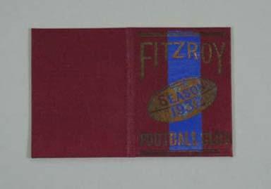 Fitzroy FC membership ticket, 1931 season