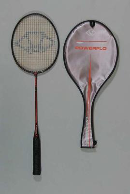 Badminton racquet, undated
