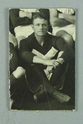 A black and white photograph of  C. O. 'Barney'  Carr in 1928; Photography; 1987.1491.5