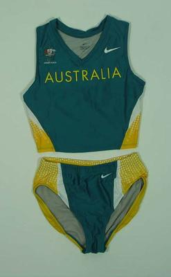 Women's athletic outfit, 2000 Australian Olympic Games team uniform