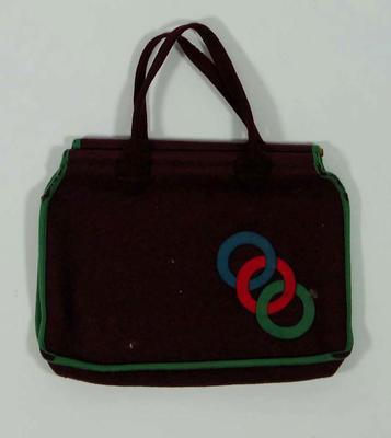 Felt bag, three ring design