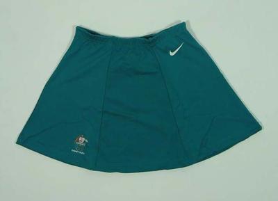 Women's hockey skirt, 2000 Australian Olympic Games team uniform