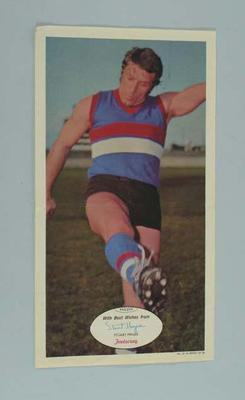 Two posters, featuring image of Stuart Magee c1970