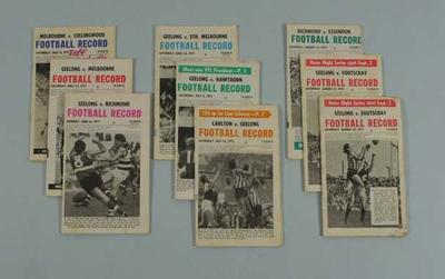 Nine Football Records, 1971 VFL Season