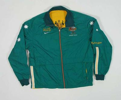 Ceremonial warm-up jacket, 2000 Australian Olympic Games team uniform