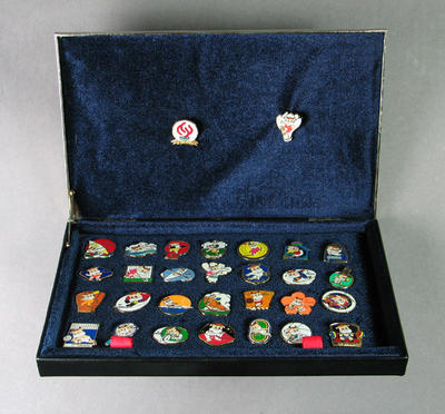 Set of badges, 8th National Games of the People's Republic of China 1997