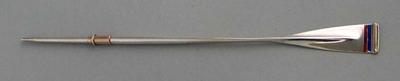 Small oar-shaped trophy, origins unknown