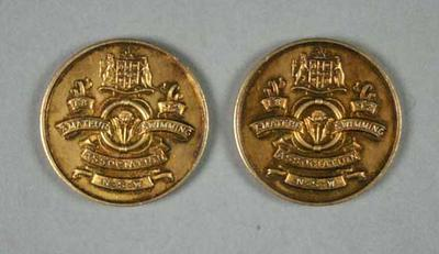 Medals - Amateur Swimming Association NSW awarded to John Marshall 1948-49