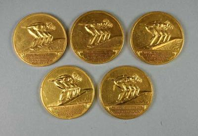 Medals - Australian Swimming Championships 1948-49 awarded to John Marshall by ASUA