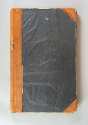 Participant's register, 1956 Olympic Games torch relay; Documents and books; 2006.5845.2