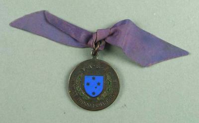 Medal - VASA Winter Indoor Championship awarded to John Marshall