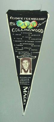 Pennant, Collingwood FC 1956 Olympic Premiership
