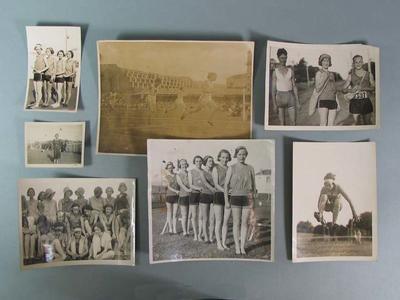 Various photographs, depicting female athletes c1930s; Photography; Photography; 1992.2699.16