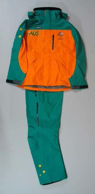 Medal ceremony suit, 2006 Australian Winter Olympic Games team