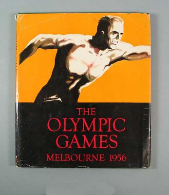 "Book, ""The Olympic Games Melbourne 1956"""