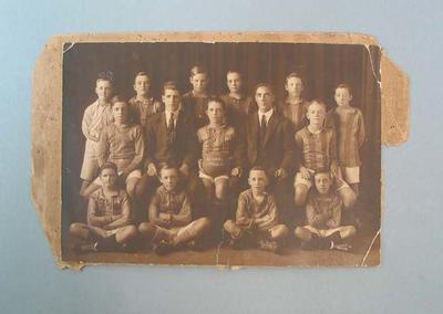 Photograph of Alexandria schoolboys football team, 1924