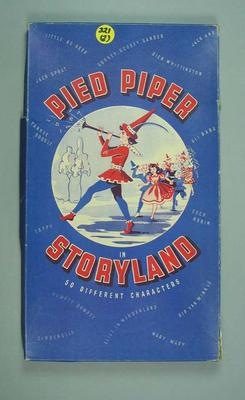 """Board game, """"Pied Piper in Storyland"""""""