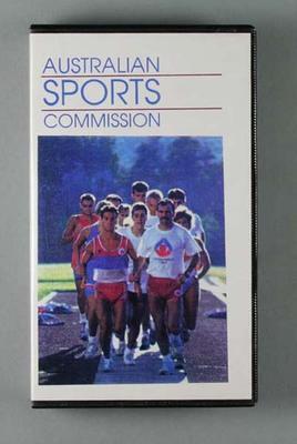 Video, Australian Sports Commission c1990s; Audio-Visual; Audio-Visual; 1999.3548.31