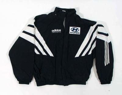 Carlton FC tracksuit, worn by Justin Madden c1990s
