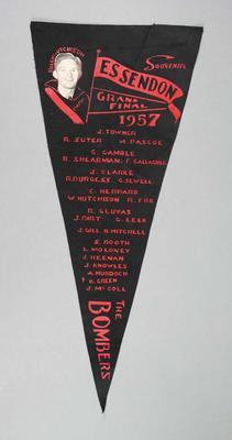 Pennant, Essendon FC 1957 Grand Final