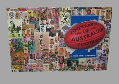 Exhibition panel, Australian Football League Centenary 1897-1996