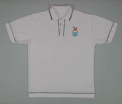 Polo shirt, 2006 Melbourne Commonwealth Games; Clothing or accessories; 2006.5181.41