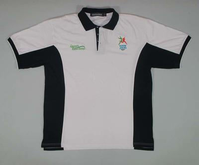 Polo shirt, Queen's Baton Relay 2006 Commonwealth Games; Clothing or accessories; 2006.5181.40