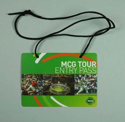 MCG Tour visitor pass