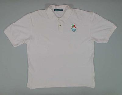 Polo shirt, 2006 Melbourne Commonwealth Games; Clothing or accessories; 2006.5181.39
