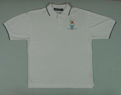 Polo shirt, 2006 Melbourne Commonwealth Games staff; Clothing or accessories; 2006.5181.38