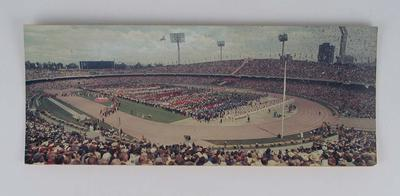 Panoramic photograph, 1968 Olympic Games Opening Ceremony