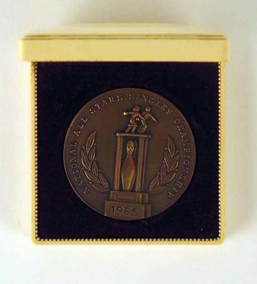 Medal, National All Stars Single Championships 1965