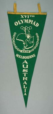 Pennant, 1956 Melbourne Olympic Games