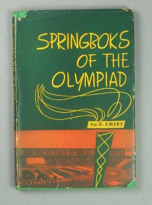 "Book, ""Springboks of the Olympiad"""