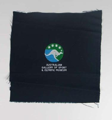 Cloth patch, Australian Gallery of Sport & Olympic Museum logo