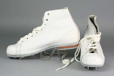 Pair of cricket boots, manufactured by Arena Sporting Footwear Company