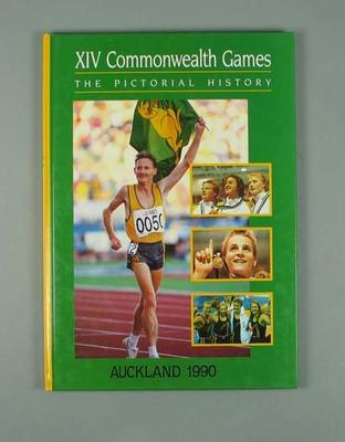 Book, ''XIV Commonwealth Games: The Pictorial History''