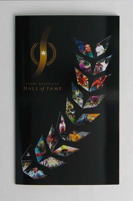 Invitation to Sport Australia Hall of Fame Dinner and Induction Ceremony, 10 Oct 2006; Documents and books; 2006.5600.2