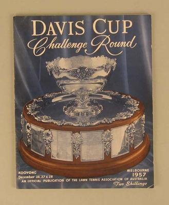 Programme, Davis Cup Challenge Round 1957
